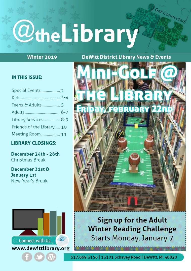 @ the Library Winter 2019
