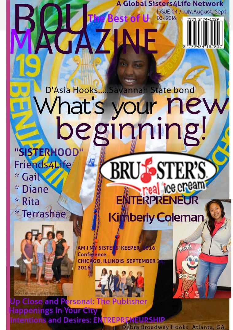 BOU ( The Best of U ) Magazine Issue 4  (03) Quarterly
