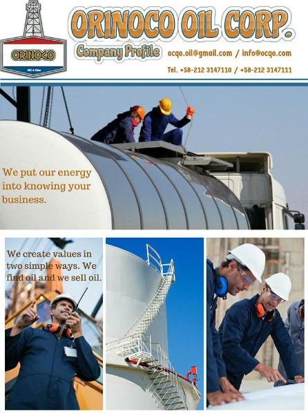 Orinoco Oil Corporation,S.A Orinoco Oil Corporation,S.A