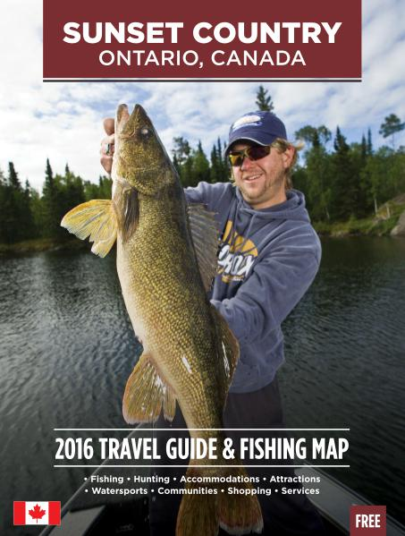 2016 Ontario Sunset Country Travel Guide 2016 Ontario's Sunset Country Travel Guide