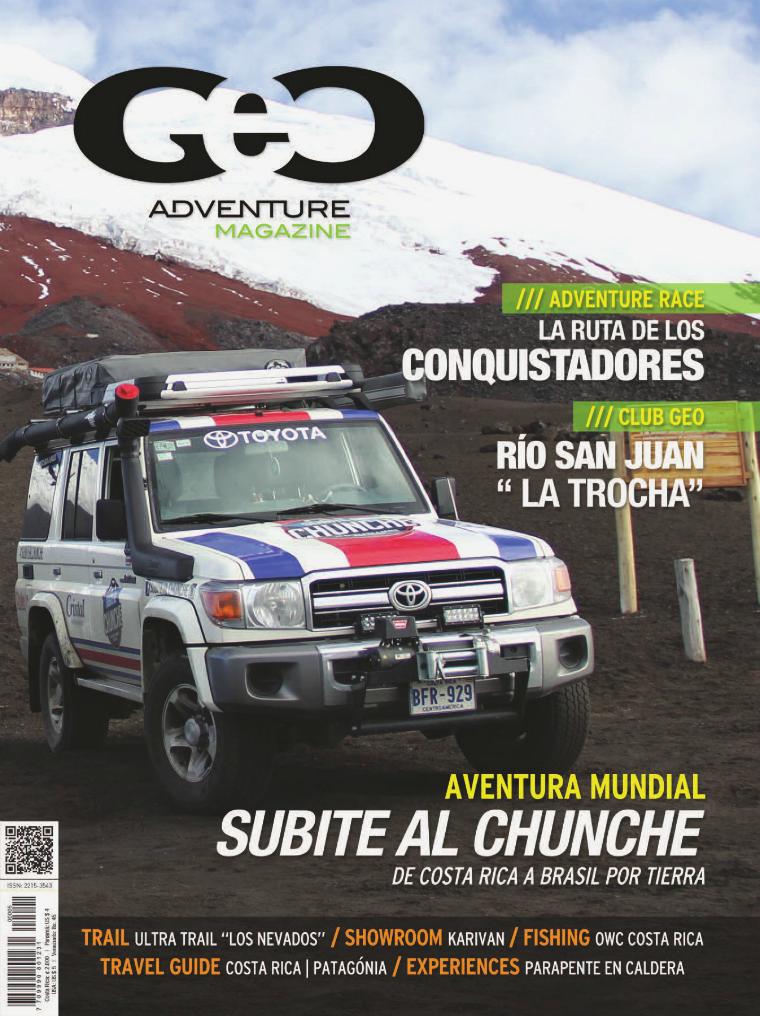 GEO Adventure Magazine Dec. 2014