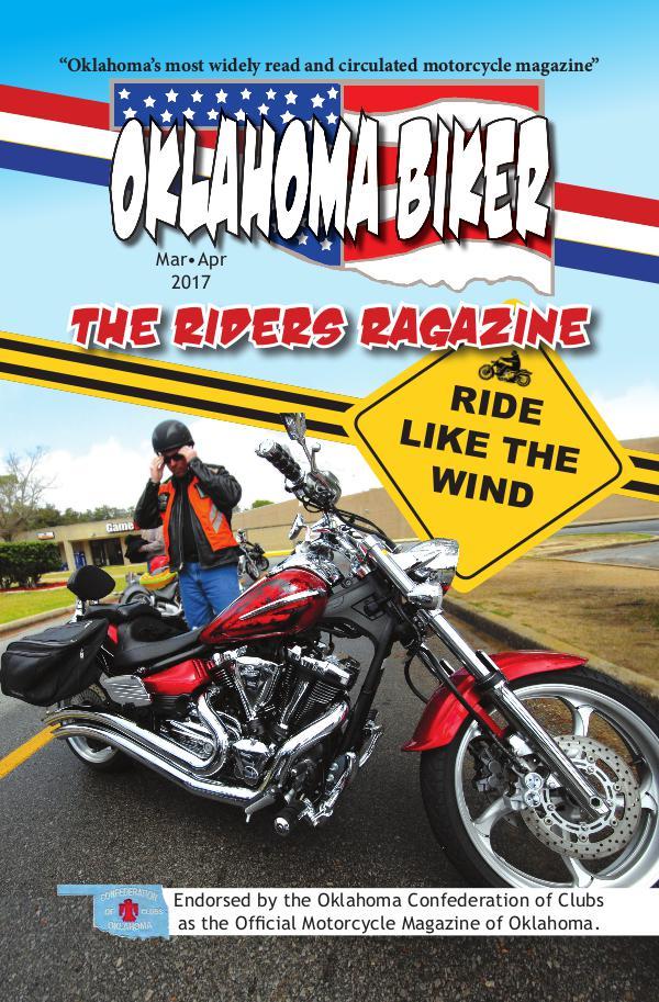 Oklahoma Biker - The Riders Ragazine Mar - Apr 2017