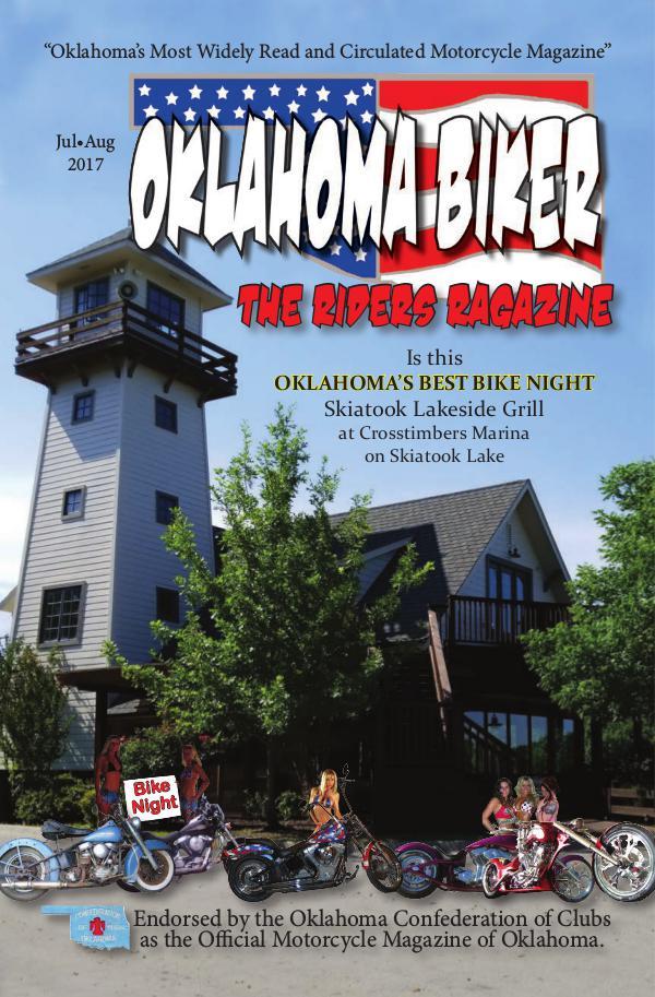 Oklahoma Biker - The Riders Ragazine Jul - Aug 2017
