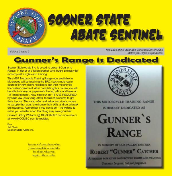 SOONER STATE ABATE SENTINEL Vol 3 Issue 2