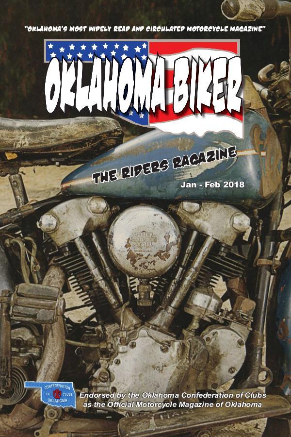 Oklahoma Biker - The Riders Ragazine Jan - Feb 2018