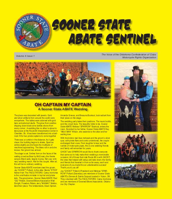 SOONER STATE ABATE SENTINEL Volume 4 Issue 1