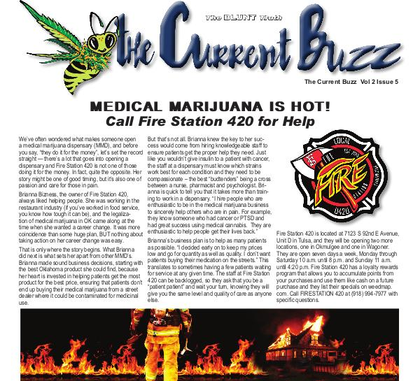 The Current Buzz Newspaper Vol 2 Issue 5