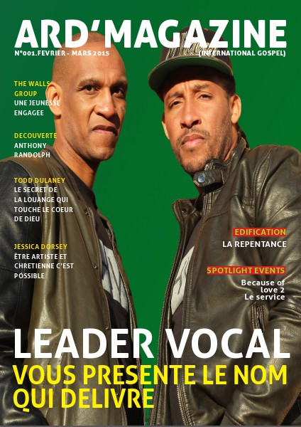 Ard'Magazine (International Gospel) Edition n°1 Février/Mars 2015