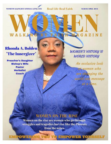 Real Life Real Faith Women Walking By Faith March/April 2016