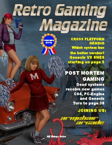 Retro Gaming Magazine Jan. 2014