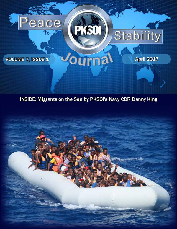 Peace & Stability Journal Volume 7, Issue 1