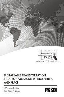 Sustainable Transportation: Strategy for Security, Prosperity, and