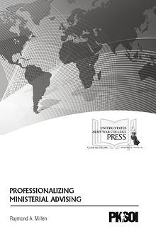 Professionalizing Ministerial Advising