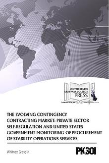 The Evolving Contingency Contracting Market