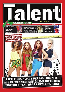 TALENT MAGAZINE CHRISTMAS ISSUE