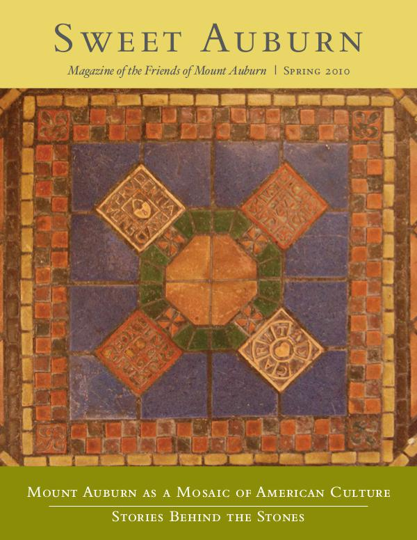 Mount Auburn as a Mosaic of American Culture