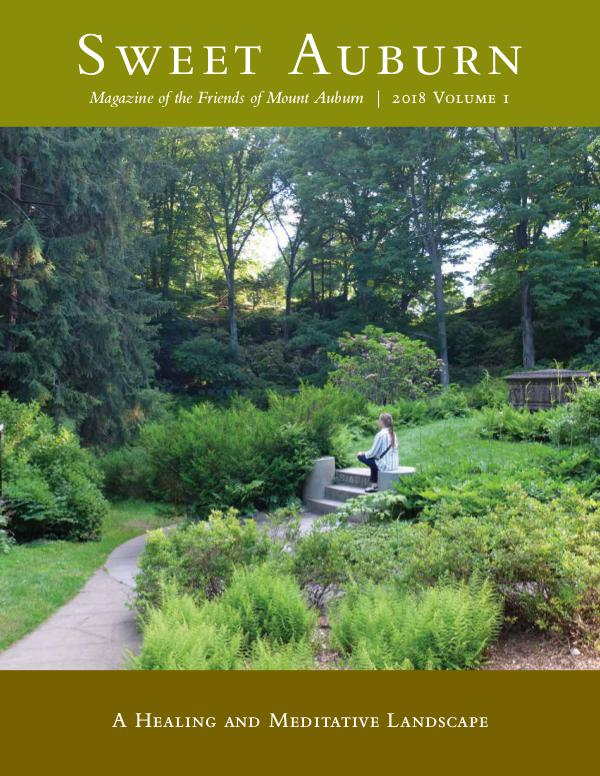 Sweet Auburn: The Magazine of the Friends of Mount Auburn A Healing and Meditative Landscape