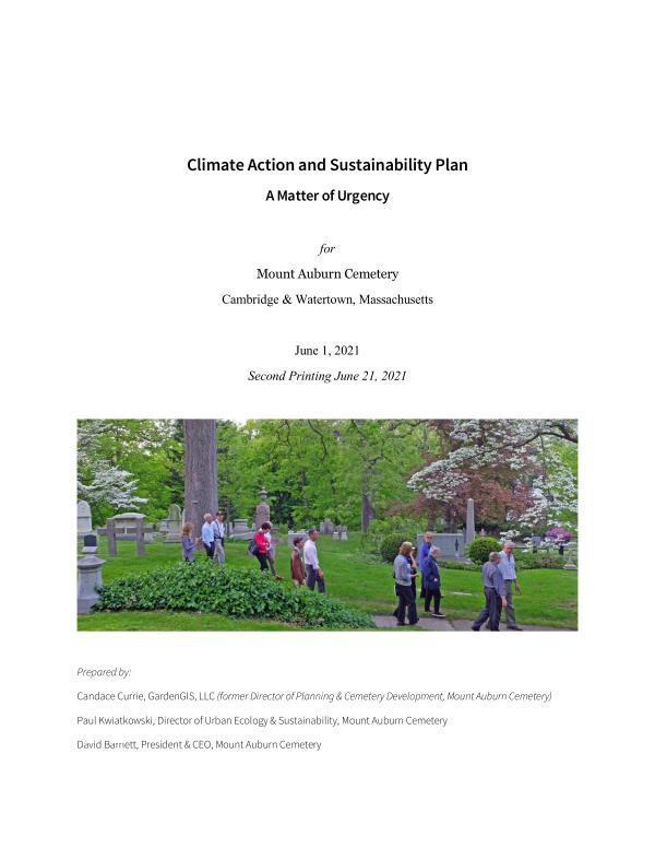 Climate Action and Sustainability Plan June 2021
