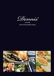 Dennis Of Bexley Catering Brochure
