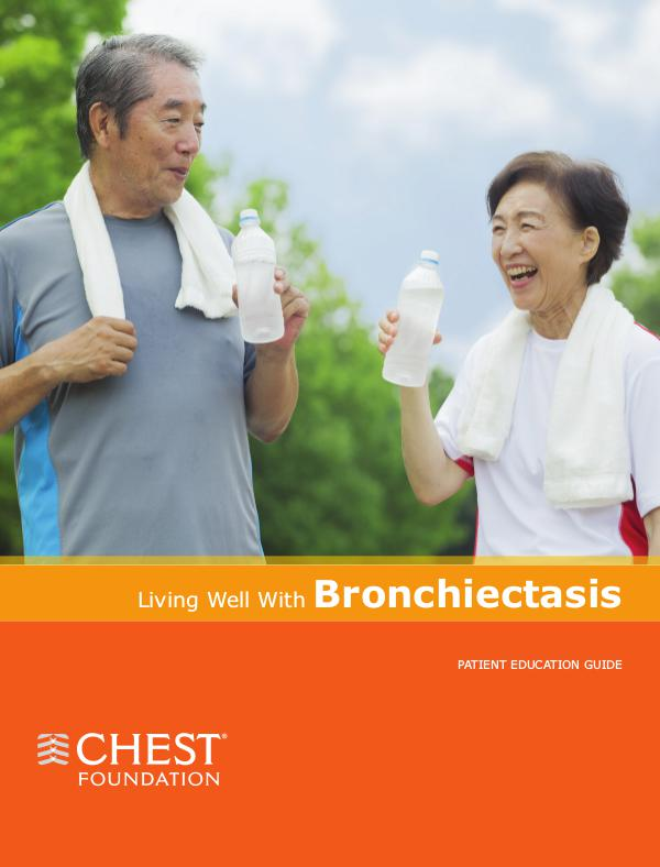 Living Well With Bronchiectasis Living Well With Bronchiectasis