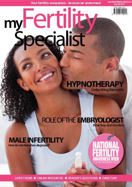 My Fertility Specialist Magazine November-January 2016