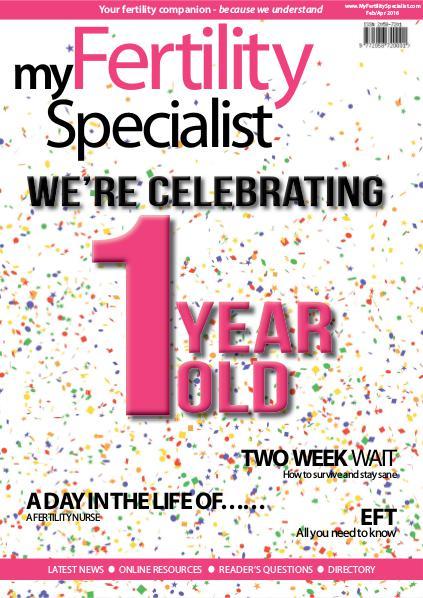 My Fertility Specialist Magazine February-April 2016