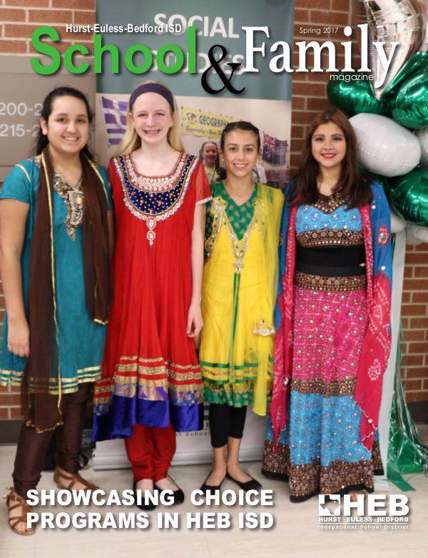 HEB ISD School & Family Magazine Spring 2017