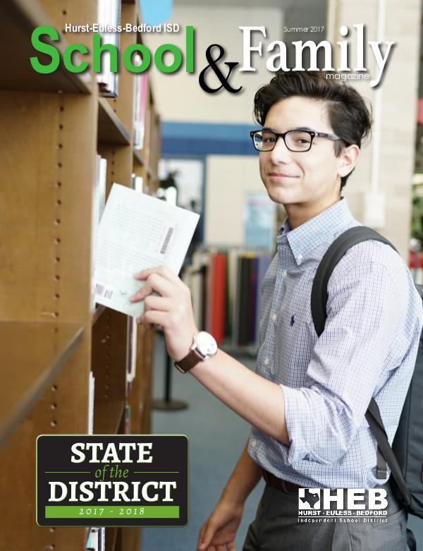 HEB ISD School & Family Magazine Summer 2017