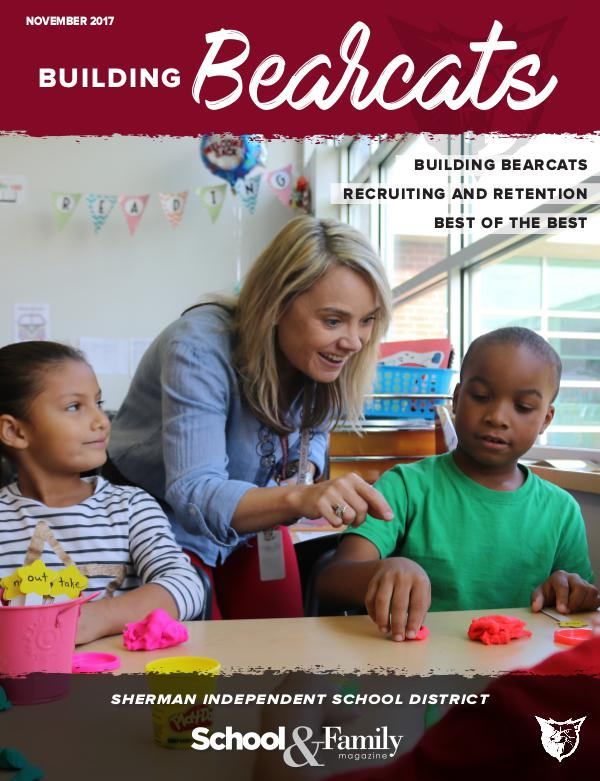 Sherman ISD Building Bearcats Magazine November 2017