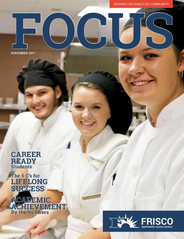 Frisco ISD Focus Magazine November 2017