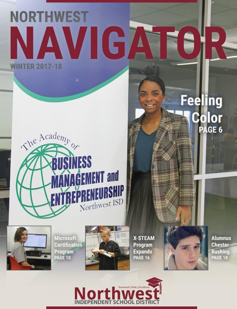 Northwest ISD Navigator Magazine Winter 2017-18