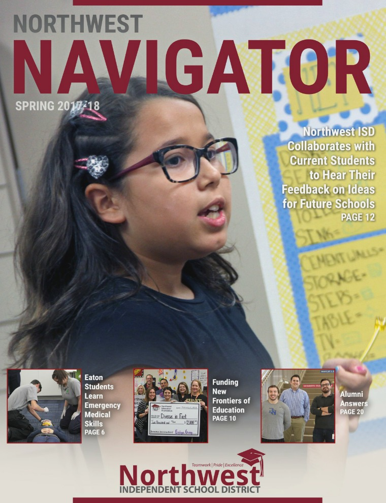 Northwest ISD Navigator Magazine Spring 2017-18