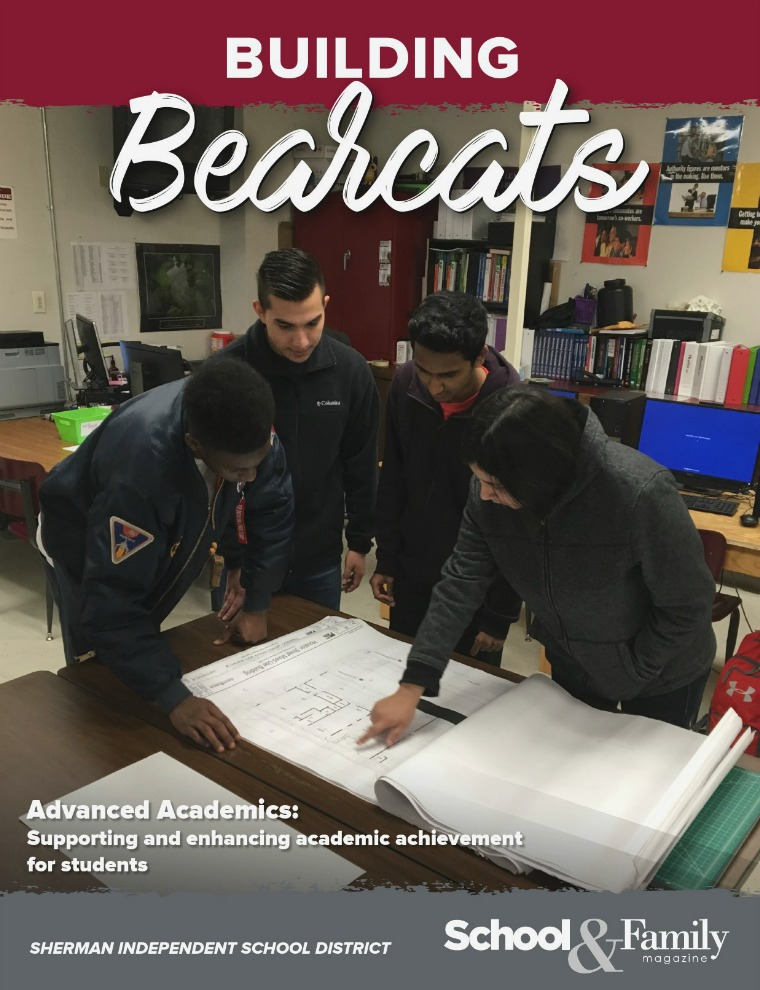 Sherman ISD Building Bearcats Magazine March-April 2018