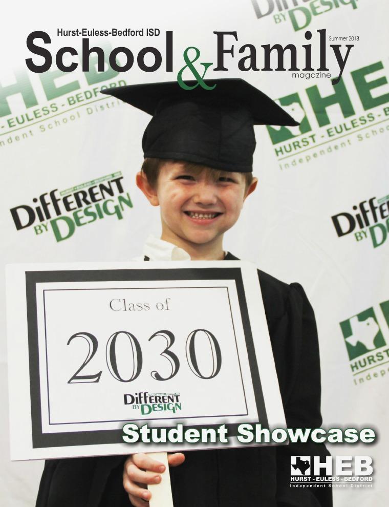 HEB ISD School & Family Magazine Summer 2018
