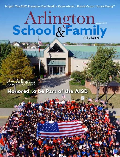 Arlington School & Family Magazine January 2015