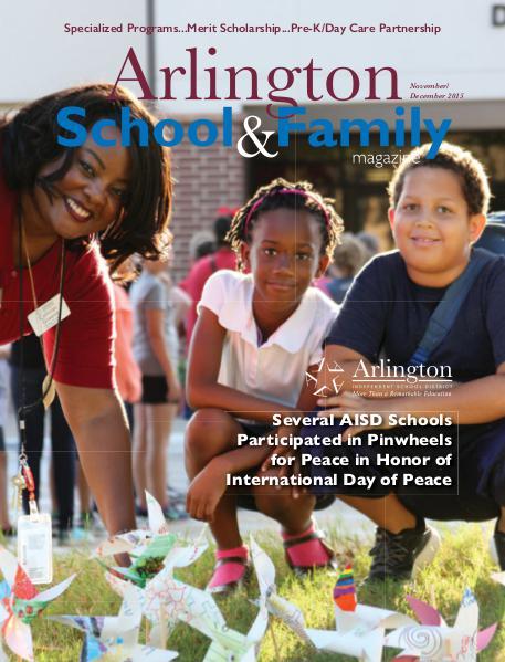 Arlington School & Family Magazine November/December 2015
