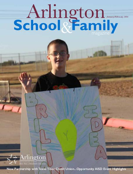 Arlington School & Family Magazine January/February 2016