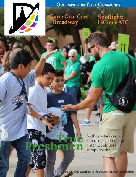 Denton ISD Our Impact In Your Community Magazine Fall 2015