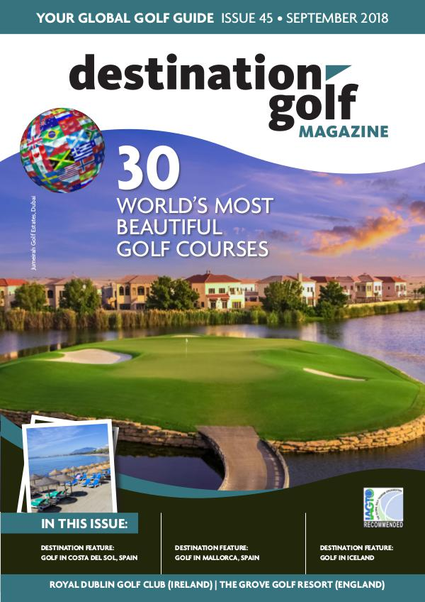 Destination Golf Global Guide - Autumn 2018 Autumn 2018