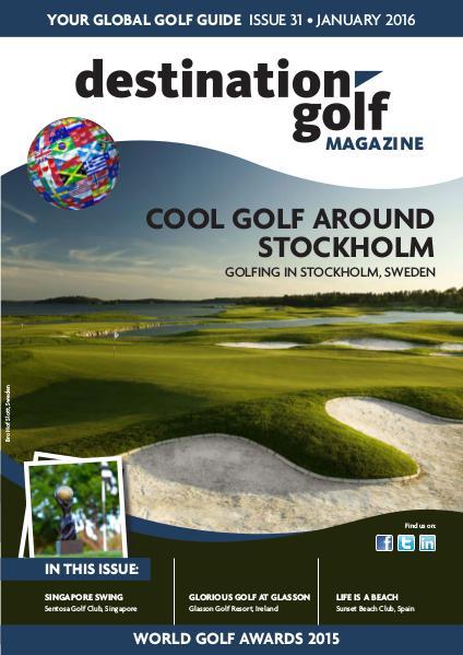 Destination Golf - January 2016