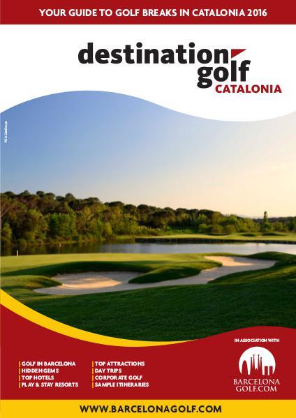 Destination Golf Catalonia 2015 2016