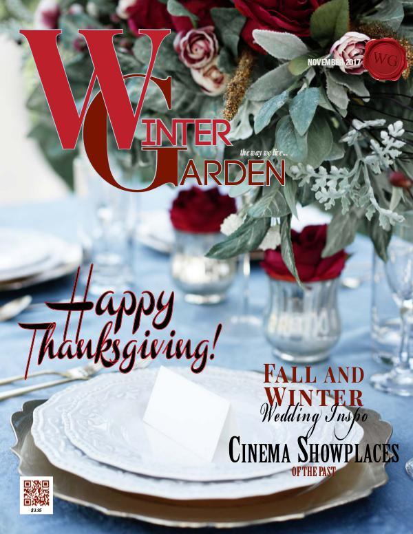 Winter Garden Magazine November 2017