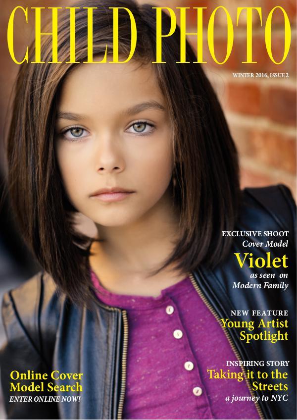 Child Photo Magazine Issue 02, Winter 2016