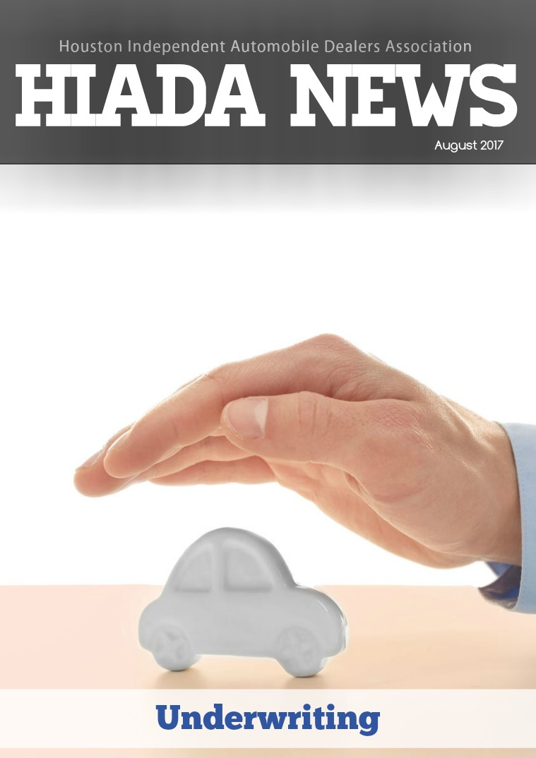 August Issue: Underwriting