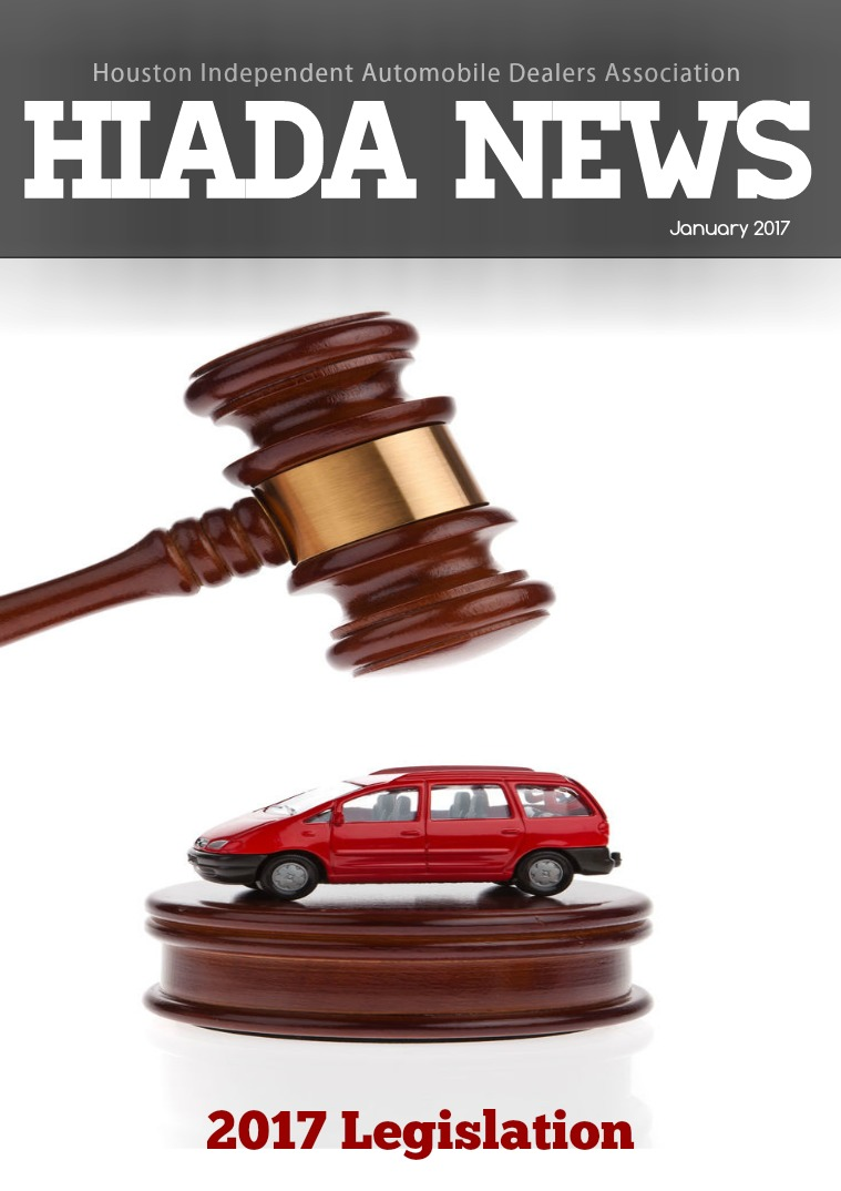 January Issue: 2017 Legislation