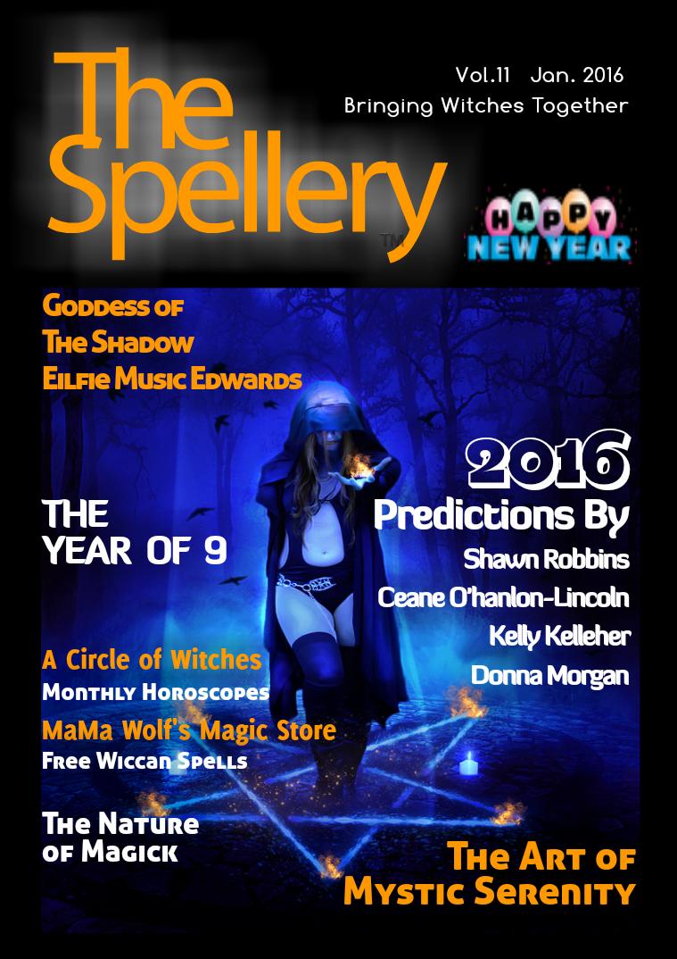 The Spellery Vol 11 Jan. 2016