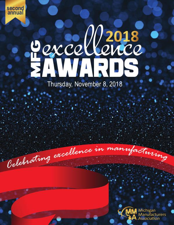 MMA Publication 2018 MFG Excellence Awards