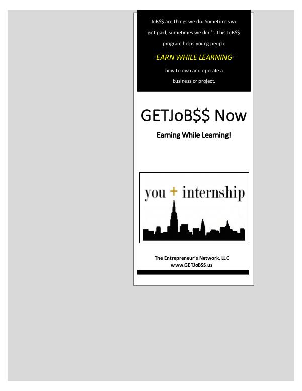 www.GETJoB$$.us TEN Steps to Success - Business Internship