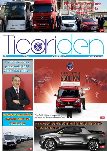 Ticariden Dergisi 1-28 Şubat 2015