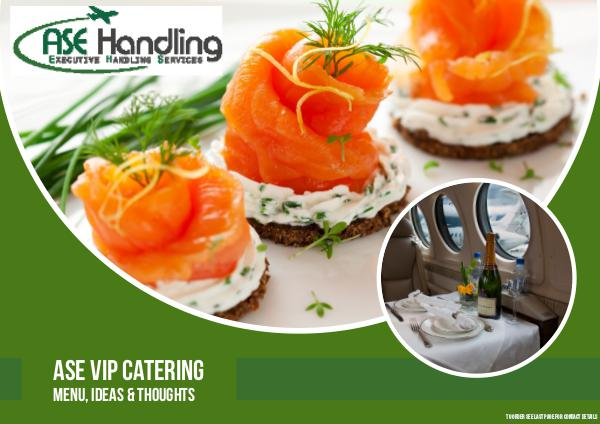 ASE Handling - Denmark, Sweden & Thailand - Catering 2016
